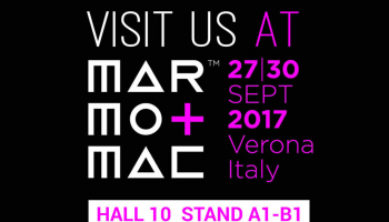 Marmomac 2017 - HALL 10  STAND A1-B1
